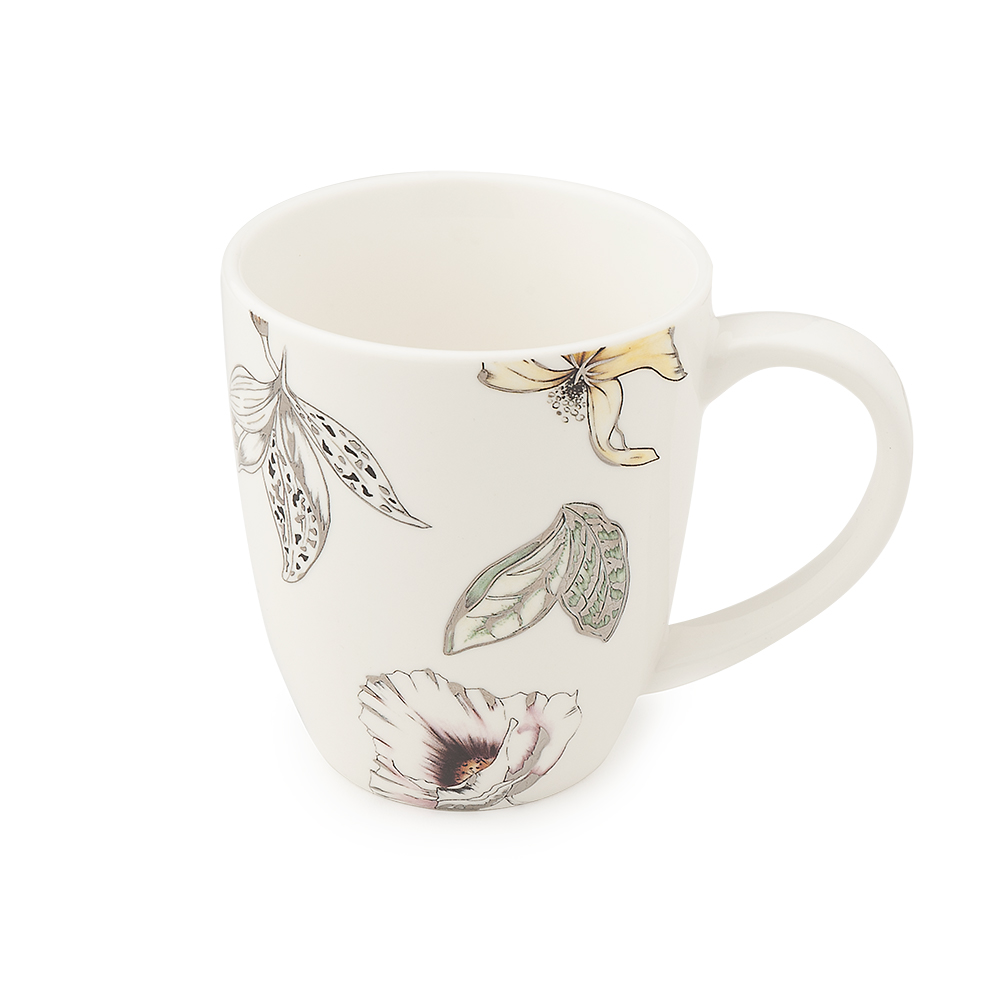 TAZZA MUG PORCELLANA BLOOMS 12,5X10CM